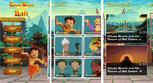 Lanzamiento de la aplicación Chhota Bheem y el trono de Bali para Windows Phone