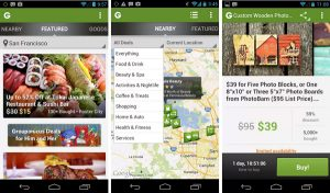 Lanzamiento de la aplicación Groupon para Android