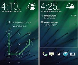 Lanzamiento de la aplicación HTC Sense 6 Lock Screen en Google Play