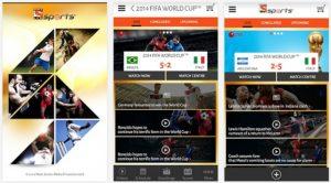 Lanzamiento de la aplicación LIV Sports tras la Copa Mundial de la FIFA 2014