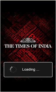 Lanzamiento de la aplicación Times of India en la Tienda Ovi