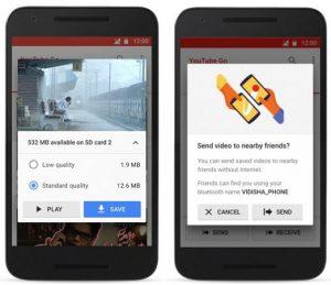 Lanzamiento de la aplicación YouTube Go con funciones para compartir y ver videos sin conexión en la India