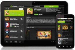 Lanzamiento de la aplicación de la tienda de juegos Tegra Zone para Android