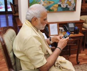 Lanzamiento de la aplicación móvil Narendra Modi para Android
