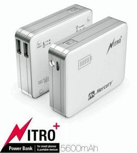 Lanzamiento de la gama Mercury Nitro Plus Power Bank