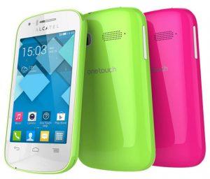 Lanzamiento de la serie Alcatel One Touch Pop con cuatro teléfonos inteligentes Android económicos