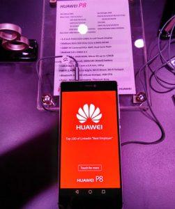 Lanzamiento del Huawei P8 con procesador Kirin octa-core y 3 GB de RAM