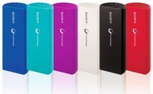 Lanzamiento del cargador USB portátil Sony CP-V3A para Rs.  1590