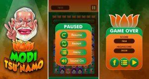 Lanzamiento del juego móvil Modi Tsunamo para Android