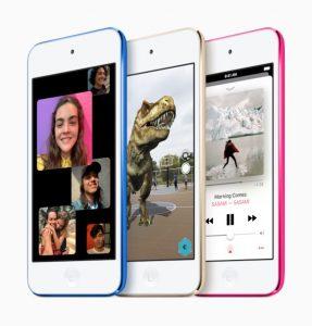Lanzamiento del nuevo iPod Touch de Apple con procesador A10 Fusion por ₹ 18,900