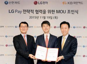 Lanzamiento del servicio de pago móvil LG Pay