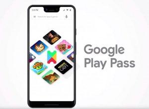 Lanzamiento del servicio de suscripción de Google Play Pass para juegos y aplicaciones