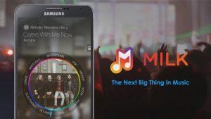 Lanzamiento del servicio de transmisión de Samsung Milk Music;  Disponible en ciertos dispositivos Galaxy