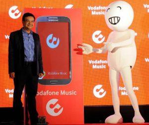Lanzamiento del servicio de transmisión de música Vodafone y la aplicación para Android