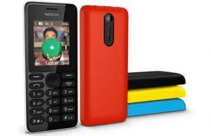 Lanzamiento del teléfono Nokia 108 con cámara VGA por $ 29