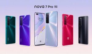 Lanzamiento del teléfono inteligente Huawei Nova 7 Pro 5G;  incluye Kirin 985 SoC, 8 GB de RAM y cámaras frontales duales