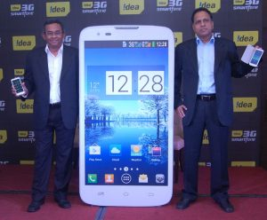 Lanzamiento del teléfono inteligente Idea Ultra con cámara de 8 MP y procesador de cuatro núcleos