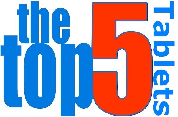 Logotipo de las 5 mejores tabletas