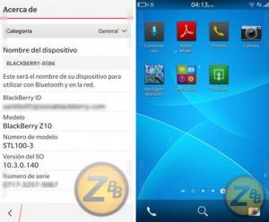 Las capturas de pantalla de la actualización de BlackBerry 10.3 revelan las próximas funciones