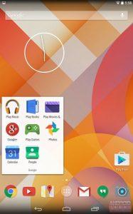 Las capturas de pantalla sugieren un rediseño importante para Android