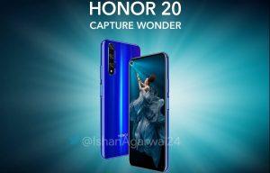 Las especificaciones completas de Honor 20 se filtraron en línea antes de su lanzamiento