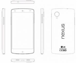 Las especificaciones del teléfono inteligente Google Nexus 5 finalmente se filtraron a través de un manual de servicio de LG