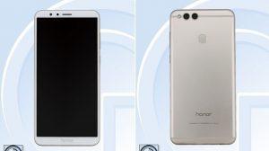 Las especificaciones e imágenes del Honor 7X aparecen en línea, pantalla FullView de 5.9 pulgadas y cámaras traseras duales a cuestas