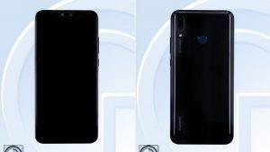 Las especificaciones e imágenes del Huawei Y9 (2019) aparecen en línea a través de TENAA