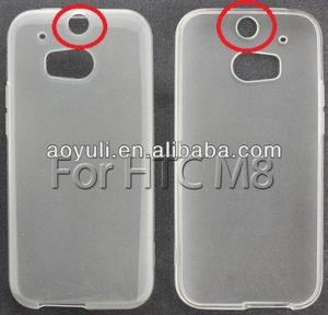 Las fundas HTC M8 revelan un corte ancho para el sensor de huellas dactilares
