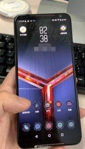 Las imágenes del Asus ROG Phone II se filtran en línea y revelan su panel frontal