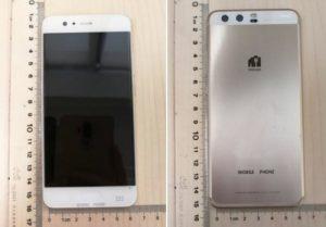 Las imágenes del Huawei P10 aparecen en el sitio web de la FCC