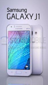 Las imágenes del Samsung Galaxy J1 se filtran junto con las especificaciones