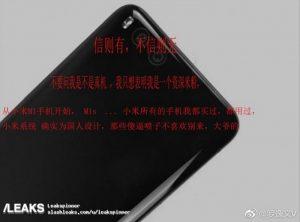 Las imágenes filtradas de Xiaomi Mi 6 muestran la configuración de cámara dual en la parte posterior