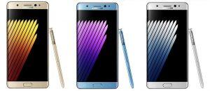 Se espera que Samsung Galaxy Note7 se lance en India el 10 de agosto
