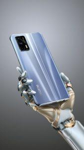 Las imágenes oficiales del teléfono inteligente Realme GT muestran el diseño y confirman la configuración de la cámara triple de 64MP