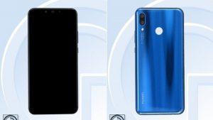 Las imágenes y las especificaciones completas del Huawei Nova 3 aparecen en línea, pantalla de 6.3 pulgadas y cámaras cuádruples a cuestas