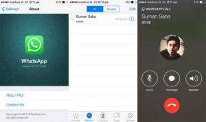 Las llamadas de WhatsApp llegan al iPhone tan pronto como las capturas de pantalla se filtran