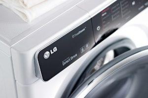 Las nuevas lavadoras de LG se conectan a los teléfonos inteligentes a través de NFC;  ofrecer más funciones