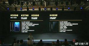 Las variantes y la información de precios del teléfono inteligente iQOO se filtraron antes del lanzamiento