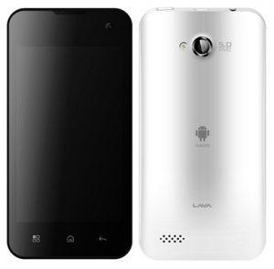 Lava IRIS N400 - teléfono inteligente Android ICS Dual SIM de 4 pulgadas disponible en línea por Rs.6,399