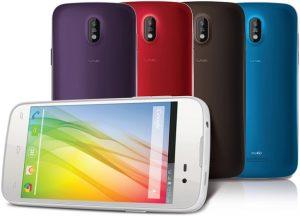 Lava Iris 450 Color con cinco opciones de color intercambiables en el panel posterior lanzadas para Rs.  7999