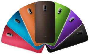 Lava Iris 450 Color con pantalla de 4,5 pulgadas y superficies de procesador de doble núcleo