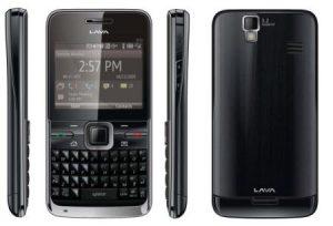 Lava Mobile lanzó QWERTY B8