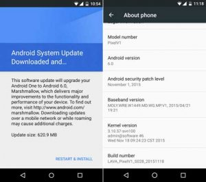 Lava Pixel V1 comienza a recibir la actualización de Android Marshmallow