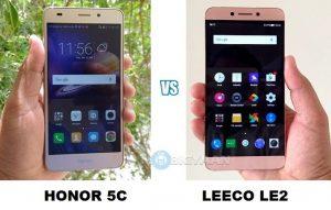 Honor 5C vs LeEco Le 2: Comparación de cámaras