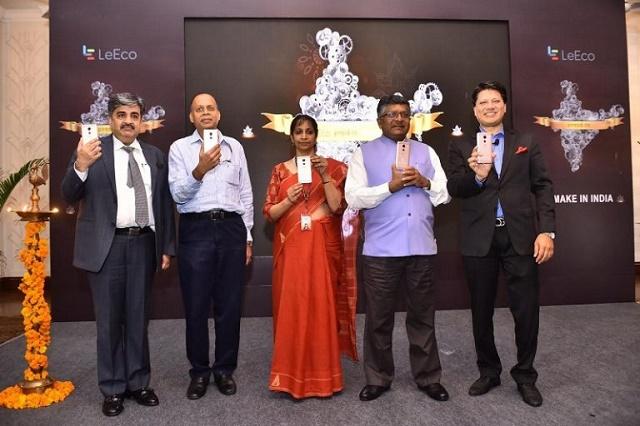 Lanzamiento de LeEco-make-in-india