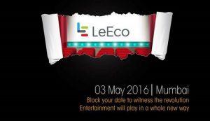 LeEco puede lanzar Le 2, Le 2 Pro y Le Max 2 en India el 3 de mayo