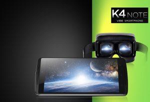 Lenovo Vibe K4 Note presentado;  Cuenta con tecnología TheaterMax