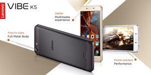 Lenovo Vibe K5 con pantalla HD de 5 pulgadas lanzado para Rs.  6999