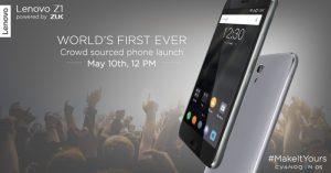Lenovo Z1 se lanzará en India con Cyanogen OS el 10 de mayo